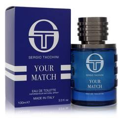 Sergio Tacchini Your Match Cologne by Sergio Tacchini 3.3 oz Eau De Toilette Spray