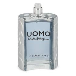 Salvatore Ferragamo Uomo Casual Life Cologne by Salvatore Ferragamo 3.4 oz Eau De Toilette Spray (Tester)