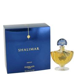 Shalimar Pure Perfume by Guerlain, 1 oz Pure Perfume for Women