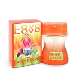 Shop & Love Perfume by Cofinluxe 3.4 oz Eau De Toilette Spray
