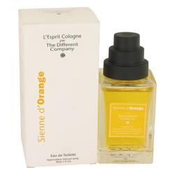 Sienne D'orange Perfume by The Different Company 3 oz Eau De Toilette Spray (Unisex)