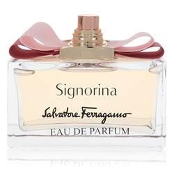 Signorina Perfume by Salvatore Ferragamo 3.4 oz Eau De Parfum Spray (Tester)