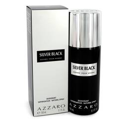 Silver Black Cologne by Azzaro 5.1 oz Deodorant Spray
