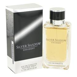 Silver Shadow Cologne by Davidoff 1.7 oz Eau De Toilette Spray