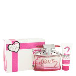 Sex In The City Love Perfume by Unknown 3.4 oz Eau De Parfum Spray + 1.7 oz Body Lotion