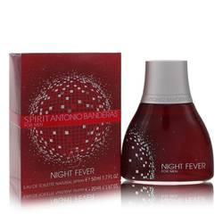 Spirit Night Fever Cologne by Antonio Banderas 1.7 oz Eau De Toilette Spray