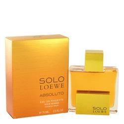 Solo Loewe Absoluto Cologne by Loewe 2.5 oz Eau De Toilette Spray