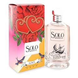 Solo Love Perfume by LUCIANO SOPRANI 3.4 oz Eau De Toilette Spray