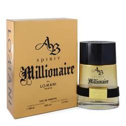 Spirit Millionaire Cologne by Lomani 3.3 oz Eau De Parfum Spray