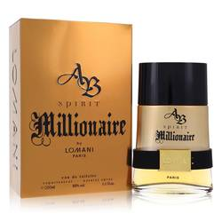 Spirit Millionaire Cologne by Lomani 6.7 oz Eau De Toilette Spray