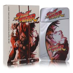 Street Fighter Cologne by Capcom 3.4 oz Eau De Toilette Spray