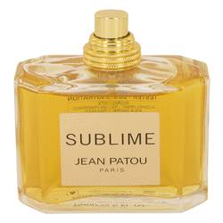 Sublime Perfume by Jean Patou 2.5 oz Eau De Toilette Spray (Tester)