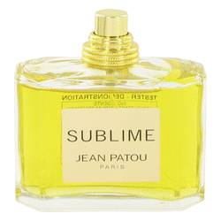 Sublime Perfume by Jean Patou 2.5 oz Eau De Parfum Spray (Tester)