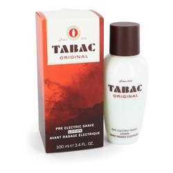Tabac Cologne by Maurer & Wirtz 3.4 oz Pre Electric Shave Lotion