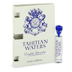 Tahitian Waters Cologne by English Laundry 0.06 oz Vial (Sample)