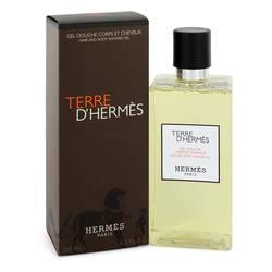 Terre D'hermes Cologne by Hermes 6.5 oz Shower Gel