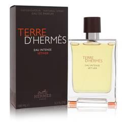 Terre D'hermes Eau Intense Vetiver Cologne by Hermes 3.3 oz Eau De Parfum Spray