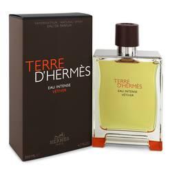 Terre D'hermes Eau Intense Vetiver Cologne by Hermes 6.8 oz Eau De Parfum Spray