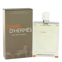 Terre D'hermes Cologne by Hermes 4.2 oz Eau Tres Fraiche Eau De Toilette Spray