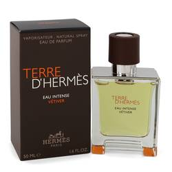 Terre D'hermes Eau Intense Vetiver Cologne by Hermes 1.7 oz Eau De Parfum Spray