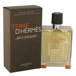 Terre D'hermes Cologne by Hermes 3.3 oz Eau De Toilette Spray (Limited Edition Packaging and bottle)