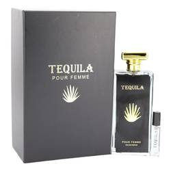 Tequila Pour Femme Perfume by Tequila 3.3 oz Eau De Parfum Spray with Free Mini .17 oz EDP