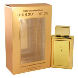 The Golden Secret Cologne by Antonio Banderas 3.4 oz Eau De Toilette Spray (The Gold Edition)