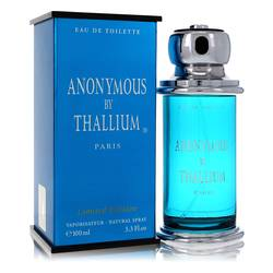 Thallium Anonymous Cologne by Yves De Sistelle 3.3 oz Eau De Toilette Spray