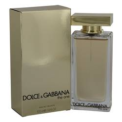 The One Perfume by Dolce & Gabbana 3.3 oz Eau De Toilette Spray New Packaging)