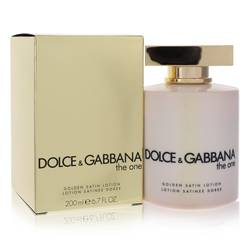 The One Perfume by Dolce & Gabbana 6.7 oz Golden Satin Lotion
