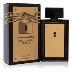 The Golden Secret Cologne by Antonio Banderas 3.4 oz Eau De Toilette Spray
