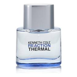 Kenneth Cole Reaction Thermal Cologne by Kenneth Cole 0.15 oz Mini EDT Spray (unboxed)