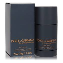 The One Gentlemen Cologne by Dolce & Gabbana 2.5 oz Deodorant Stick