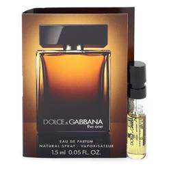 The One Cologne by Dolce & Gabbana 0.06 oz Vial (Sample)