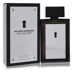 The Secret Cologne by Antonio Banderas 3.4 oz Eau De Toilette Spray