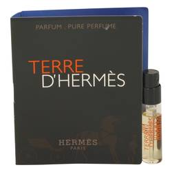 Terre D'hermes Cologne by Hermes 0.05 oz Vial (sample) Pure Perfume