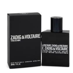 This Is Him Cologne by Zadig & Voltaire 1 oz Eau De Toilette Spray
