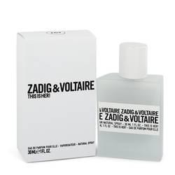 This Is Her Perfume by Zadig & Voltaire 1 oz Eau De Parfum Spray