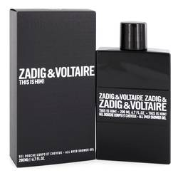 This Is Him Cologne by Zadig & Voltaire 6.7 oz Shower Gel