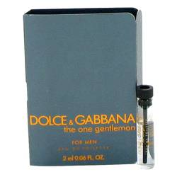 The One Gentlemen Cologne by Dolce & Gabbana 0.06 oz Vial (sample)