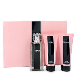 Tracy Perfume by Ellen Tracy -- Gift Set - 2.5 oz Eau De Parfum Spray + 3.4 oz Body Lotion + 3.4 oz Shower Gel
