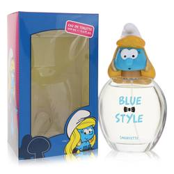 The Smurfs Perfume by Smurfs 3.4 oz Blue Style Smurfette Eau De Toilette Spray