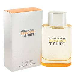 Kenneth Cole Reaction T-shirt Cologne by Kenneth Cole 3.4 oz Eau De Toilette Spray
