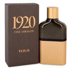Tous 1920 The Origin Cologne by Tous 3.4 oz Eau De Parfum Spray