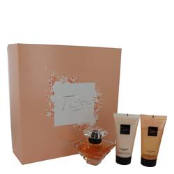 Tresor Perfume by Lancome -- Gift Set - 1.7 oz L'eau De Parfum Spray + 1.7 oz Body Lotion + 1.7 oz Shower Gel