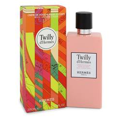 Twilly D'hermes Perfume by Hermes 6.5 oz Body Shower Cream