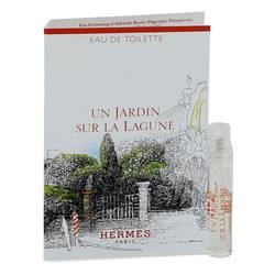 Un Jardin Sur La Lagune Perfume by Hermes 0.06 oz Vial (sample)