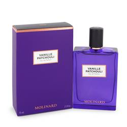 Vanille Patchouli Perfume by Molinard 2.5 oz Eau De Parfum Spray (New Packaging)