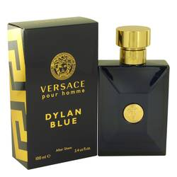 Versace Pour Homme Dylan Blue Cologne by Versace 3.4 oz After Shave Lotion