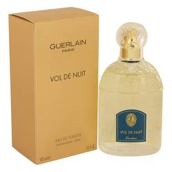 Vol De Nuit Perfume by Guerlain 3.3 oz Eau De Toilette Spray